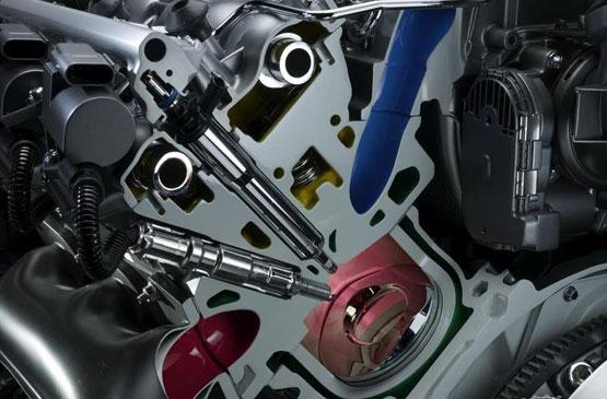 Mercedes Benz BlueTEC Engine Cutaway