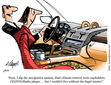 Mercedes Radios and Navigation